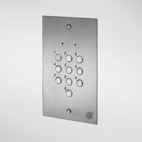 71322 Allgood Secure Flush Mounted Digital Code Keypad