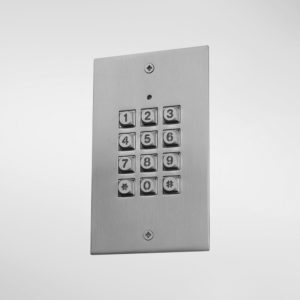 71324 Allgood Secure Flush Mounted Digital Code Keypad for Low Security Applications