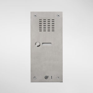 71660 Allgood Secure Audio Entry Panel With 1 Call Button