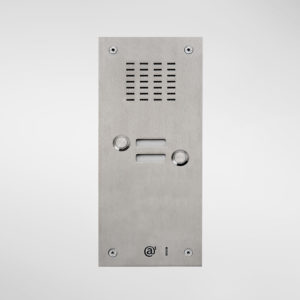 71661 Allgood Secure Audio Entry Panel With 2 Call Buttons