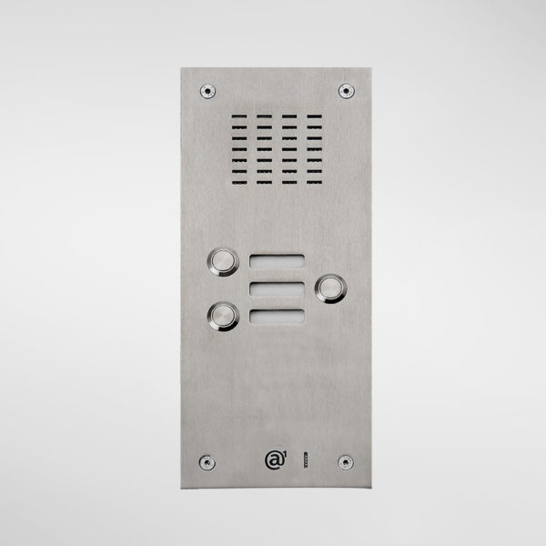 71662 Allgood Secure Audio Entry Panel With 3 Call Buttons