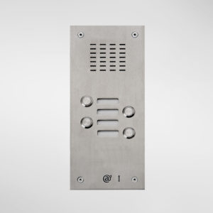 71663 Allgood Secure Audio Entry Panel With 4 Call Buttons