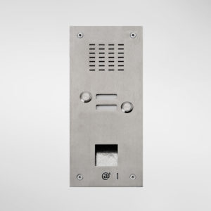 71665 Allgood Secure Audio Entry Panel With 2 call buttons & Access Control Reader Aperture