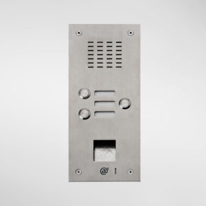 71666 Allgood Secure Audio Entry Panel With 3 Call Buttons & Access Control Reader Aperture