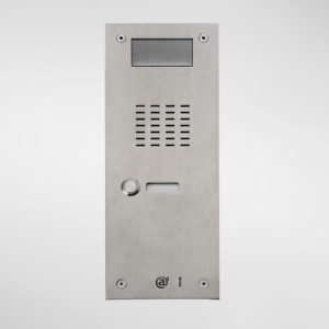 71670 Allgood Secure AV Entry Panel With 1 Call Button