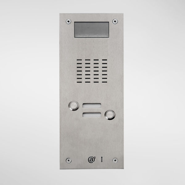 71671 Allgood Secure AV Entry Panel With 2 Call Buttons