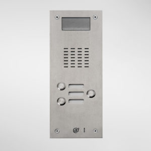 71672 Allgood Secure AV Entry Panel With 3 Call Buttons