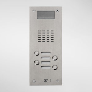 71673 Allgood Secure AV Entry Panel With 4 Call Buttons