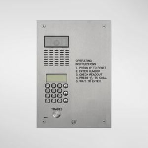 71678 Allgood Secure AV Panel With Digital Dial Keypad