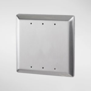 71950 Allgood Secure Square Plain Push Pad