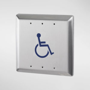 71952 Allgood Secure Square Push Pad