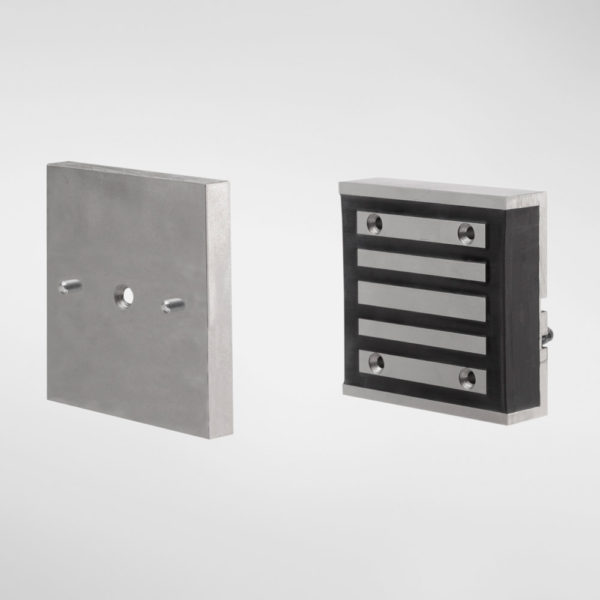 75595 Allgood Secure Compact Square Electromagnetic Lock with Armature