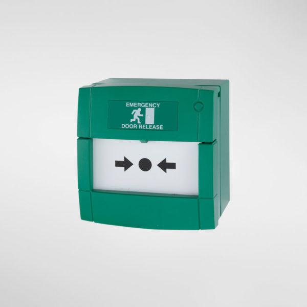 79065DPN Allgood Secure Double Pole Green Break Glass Unit