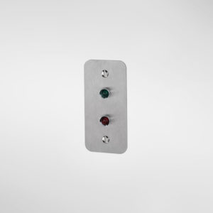 79324 Allgood Secure Narrow Style Indicator Plate
