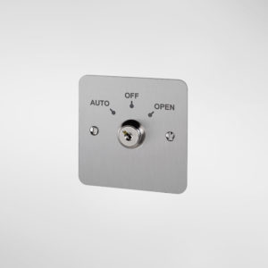 79760 Allgood Secure 3 Position Key Switch with 'AUTO', 'OFF' and 'OPEN' Text