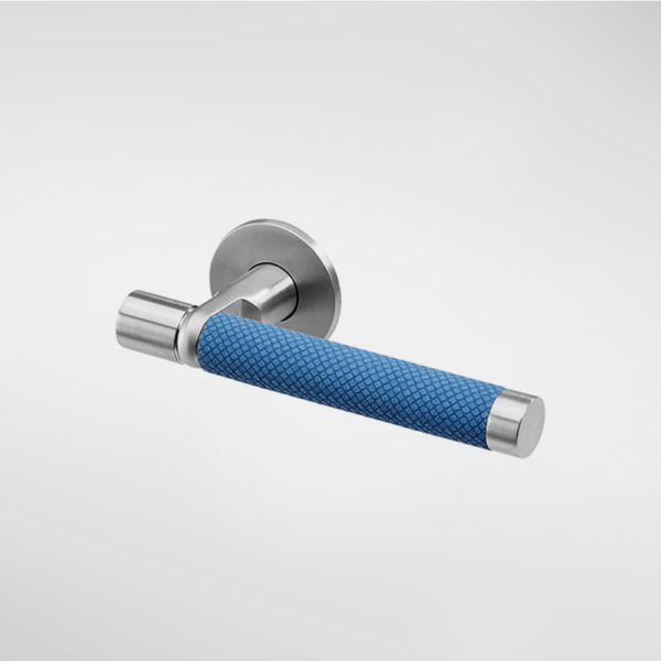 1628UF Sembla Lever Handle with Ultrafabrics Grip - Blue