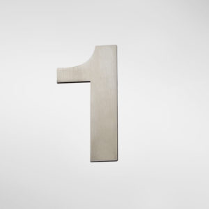 2911 Allgood Hardware Self Adhesive Numerals