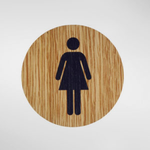 8833 Holt Self Adhesive 'Female' Sign