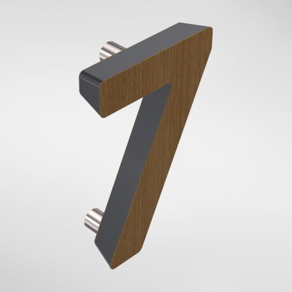 2857 Holt '7' Door Numeral