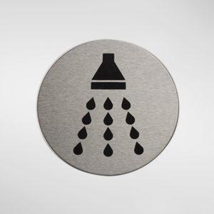 Alite Self Adhesive Sign - Shower
