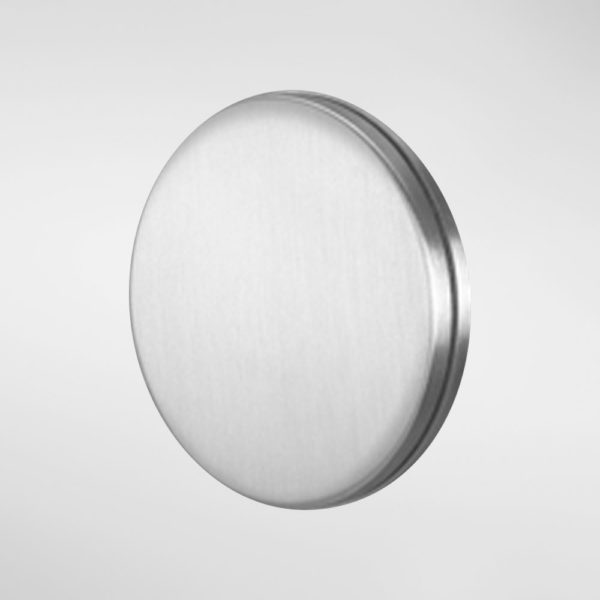 2157QModric Circular Escutcheon With Swing Cover For Lever Keys