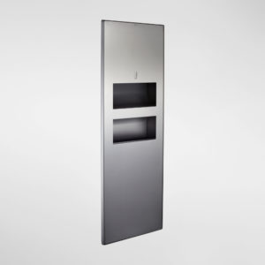 2480 Modric Recessed Paper Towel Dispenser and Bin Panel