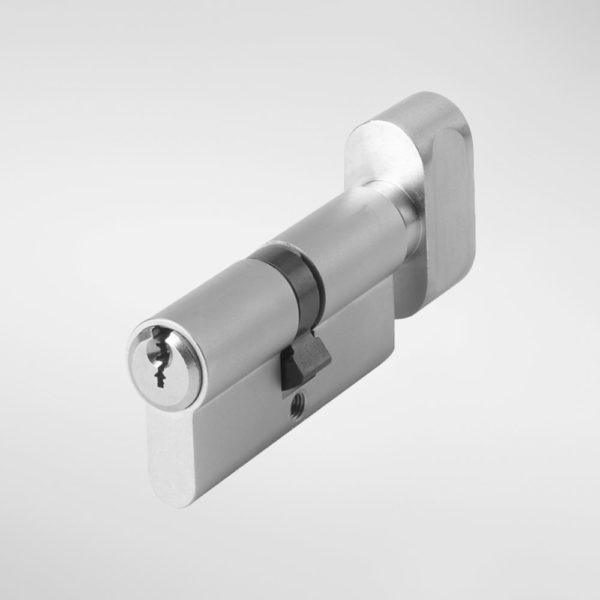 7429N Allgood Hardware Euro Profile Cylinder with Thumbturn