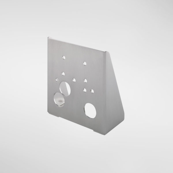 9409B Allgood Hardware Floor Mounting Bracket