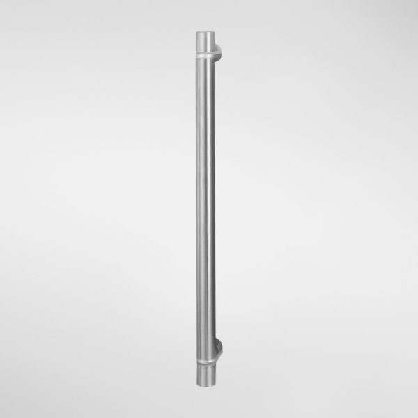 1729C Sembla Cranked Entrance Pull Handle With Drum Tips