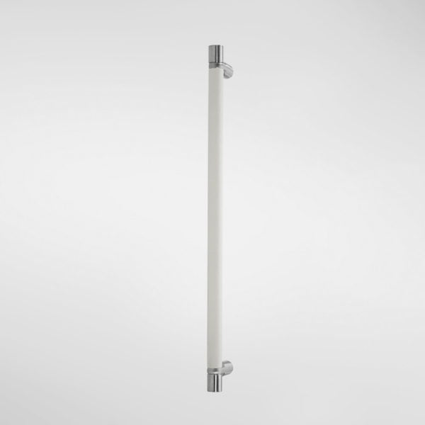 1628UF Sembla Pull Handle With Ultrafabrics Grip And Drum Tips - White