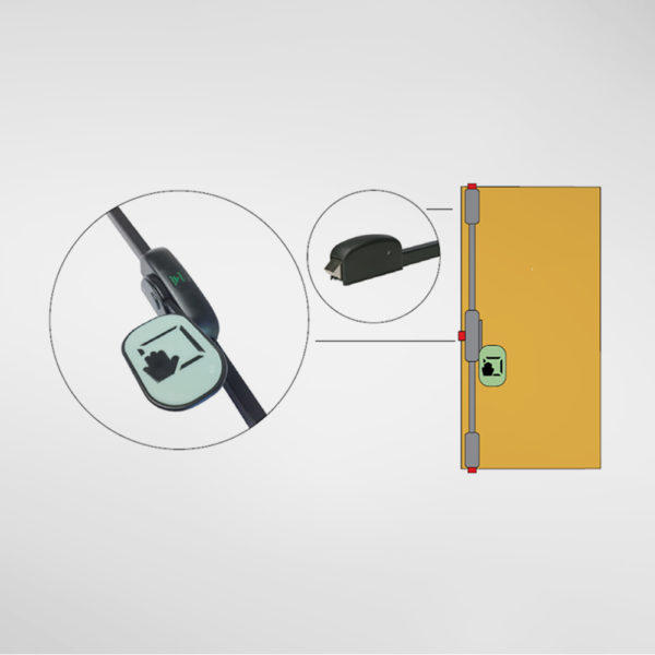 10294 Allgood Hardware 3 Point Push Pad Panic Bolt