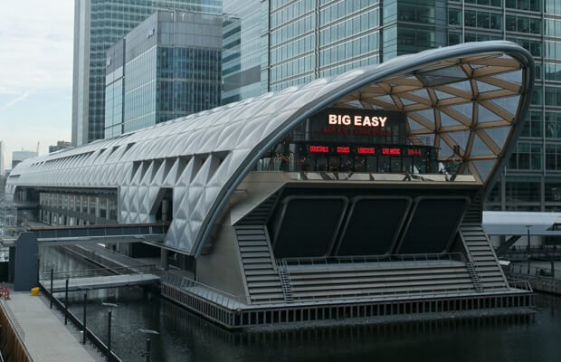 Crossrail Place Canary Wharf