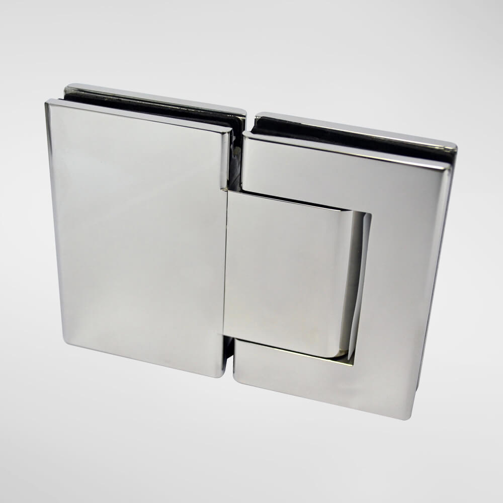 830 Hydraulic Hinge c/w 90° hold open – Glass to Glass