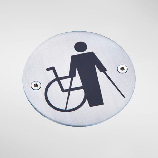8435 Modric Disabled Sign
