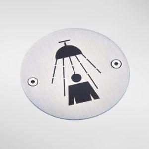 8456 Modric Shower Sign