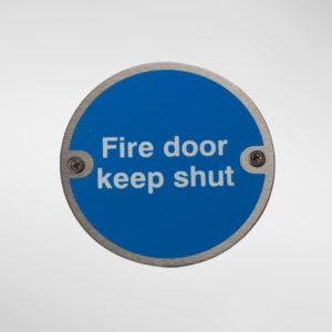 97949 Alite Fire Door Keep Shut Sign