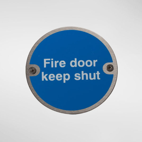 97949 Alite Fire Door Keep Shut Sign
