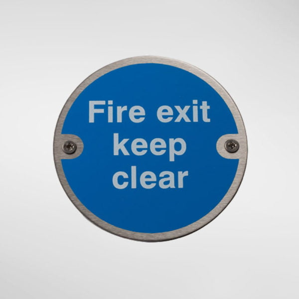 97950 Alite Fire Door Keep Clear Sign