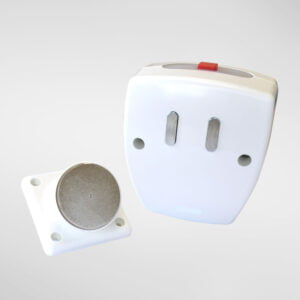 9405W Battery Operated Fire Door Hold-Open Device(White)